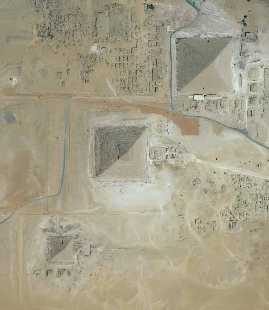 Büyük Piramit Giza Mısır