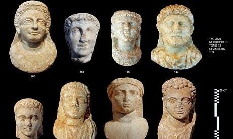 İskenderiye'deki Taposiris Magna'da Yeni Eserler Bulundu   Arkeonews