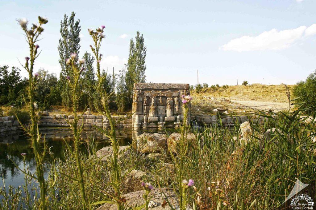 KONYA Beyşehir Eflatunpınar Hitit Anıt Çeşmesi-