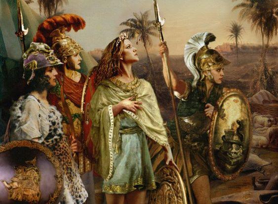 Amazon kadınları İskitli mi yoksa mitolojik varlıklar mı?