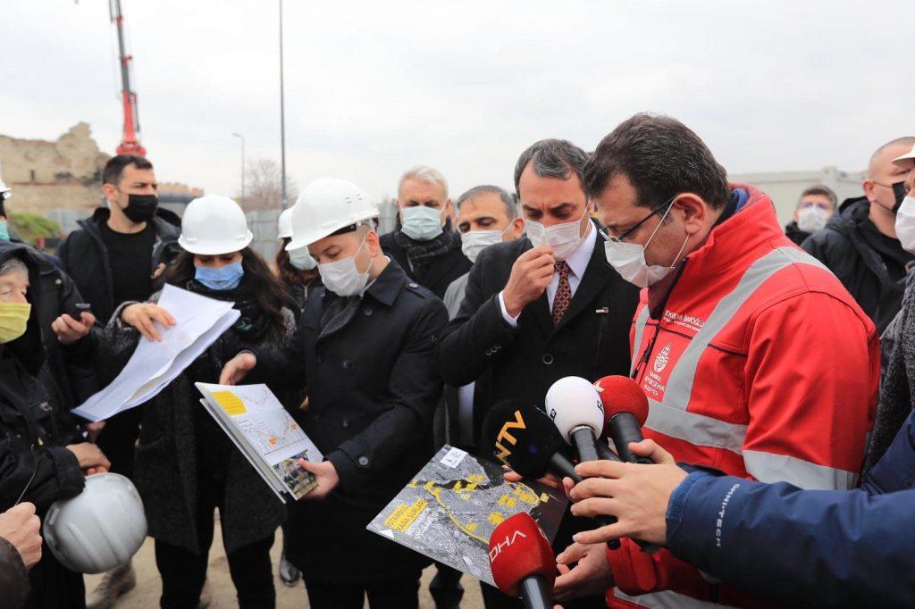 İstanbul Surları restorasyon çalışması Ekrem İmamoğlu