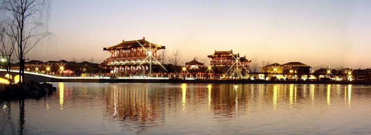 Xi'an Xianyang Uluslararası Havaalanı'ndaki arkeolojik site Fotoğraf: Shaanxi Academy of Archaeology