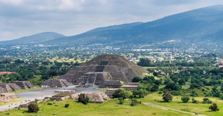 güneş piramidi