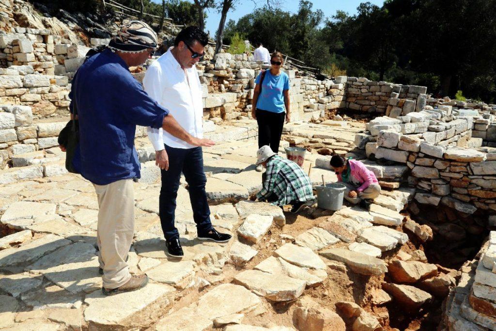 Pedasa antik kenti Kazı Başkanı Prof. Dr. Adnan Diler