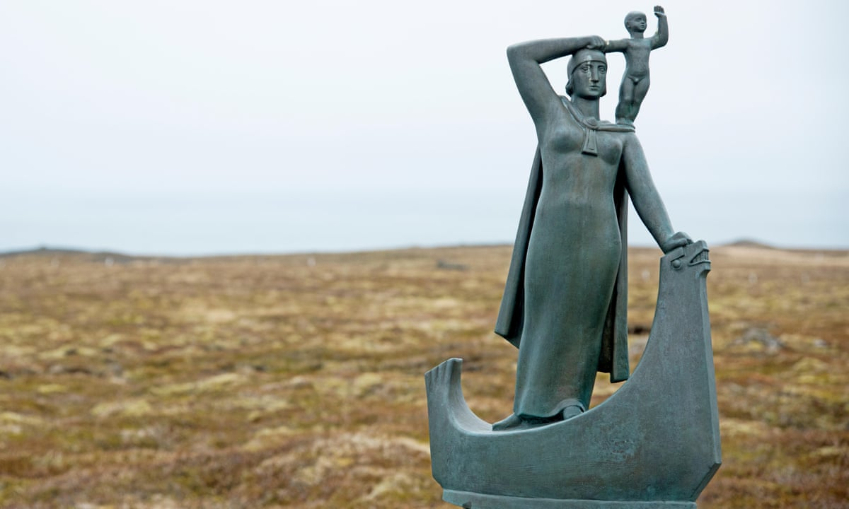 Gudrid Torbjörnsdottir heykeli