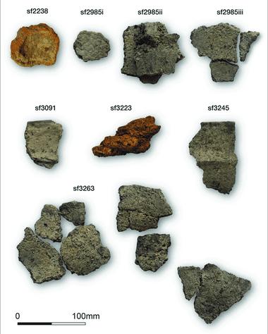 Kuzey Yorkshire bölgesinde bulunan neolitik yerleşimde ele geçen tuz parçaları
