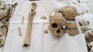 Şapinuva da bulunan kadın kafatası