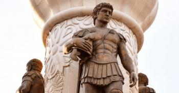 Büyük İskender heykeli