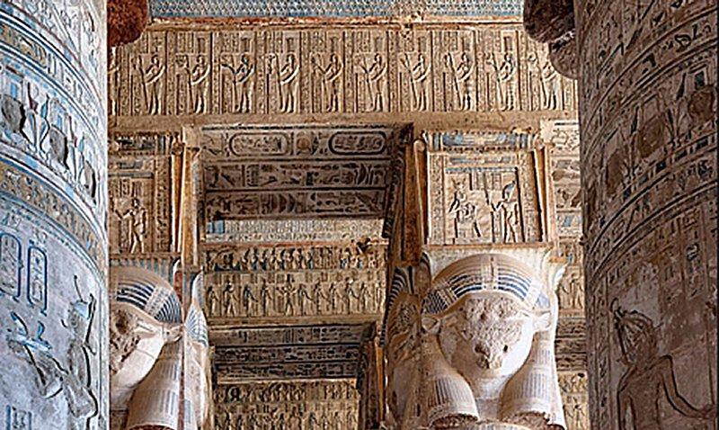 dendera tapınağı