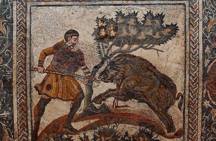 Antik yunanda domuz