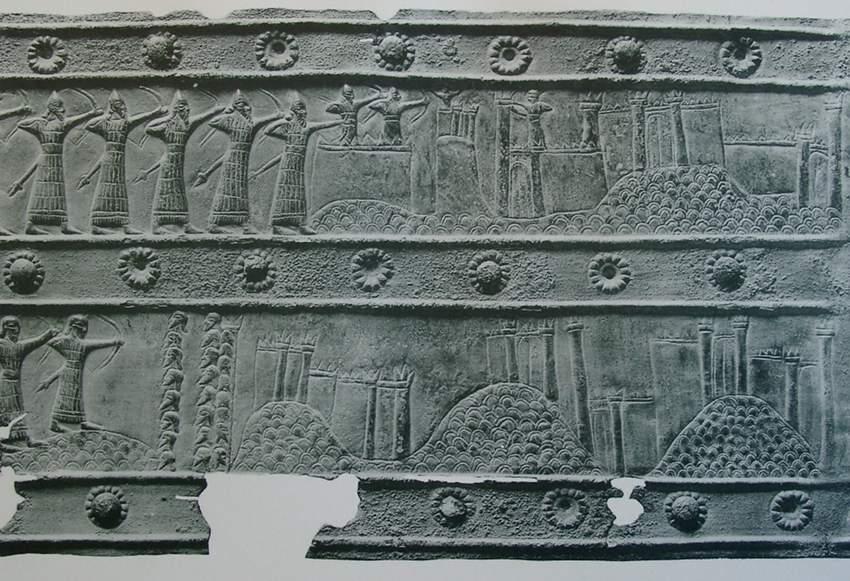 Urartu kentlerine saldırı düzenleyen Assurlular