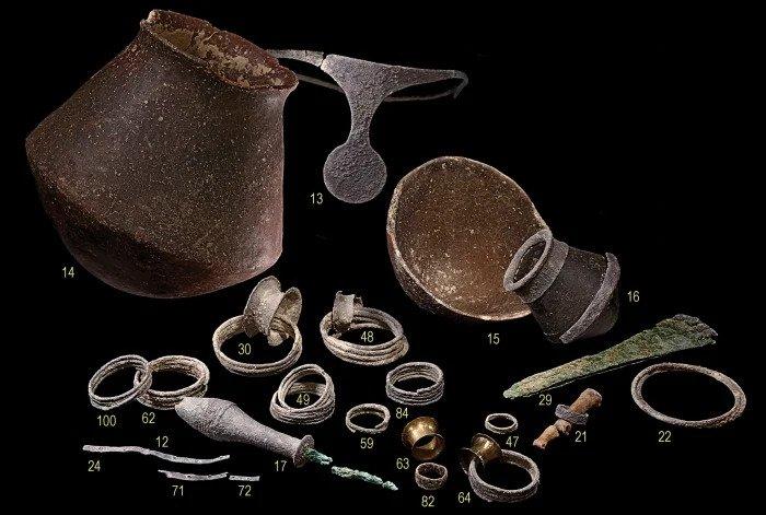 El Algar mezar 38 de bulunan mallar