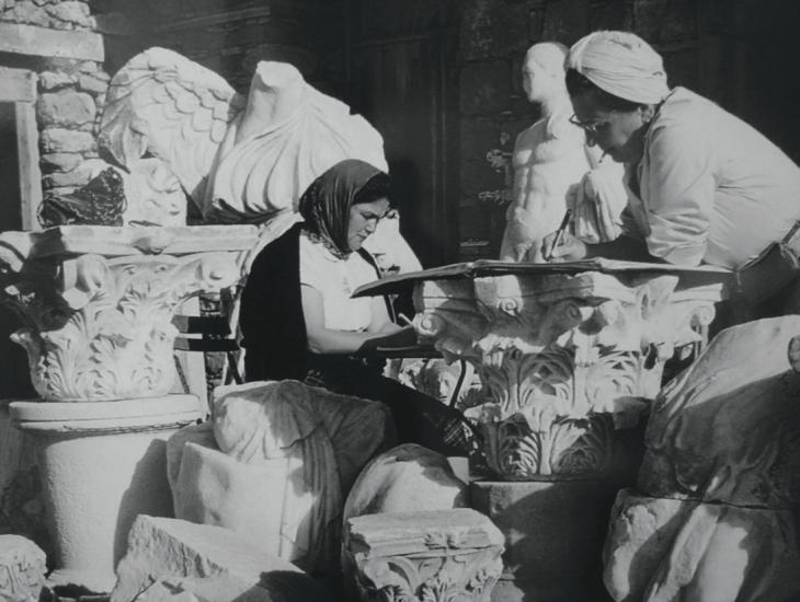 Türkiye'nin ilk kadın arkeologu Jale inan