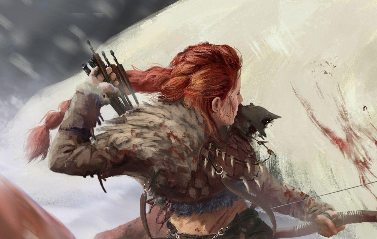 Viking kadın savaşçı