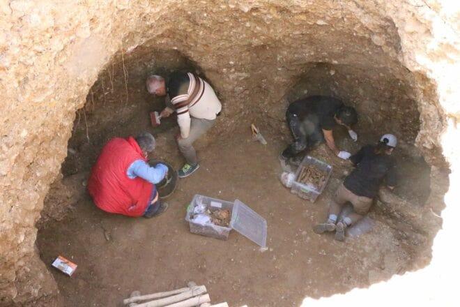 Adıyaman'da kaya mezarı bulundu