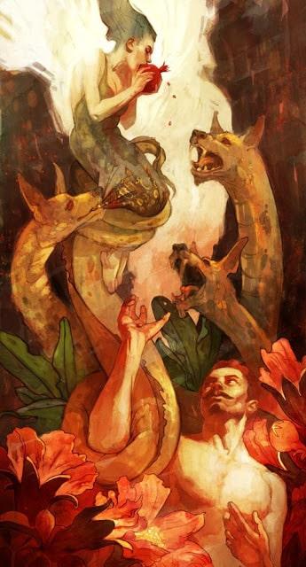 Ancient greek mytology pomegranate
