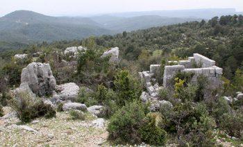 Antalya Manavgat ilçesi Hisarcıklı Kalesi Roma Antik Kenti