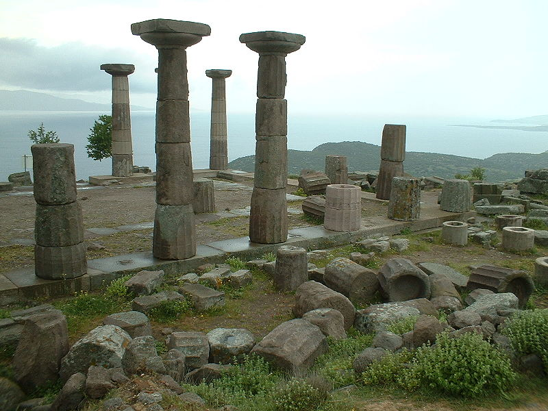 Assos Antik Kenti_Athena Tapınağı