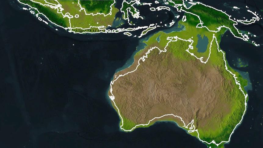 Avustralya altmış bin yıl önce