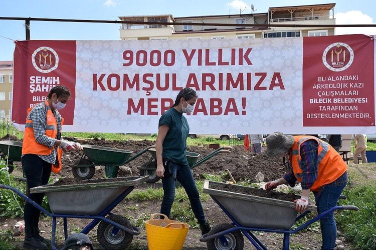 Bilecik Şeyh Edebali Üniversitesi arkeoloji kazı çalışmaları