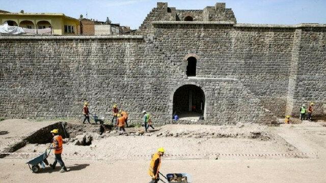 Diyarbakır Amida-Höyük Roma Caddesi Bulundu