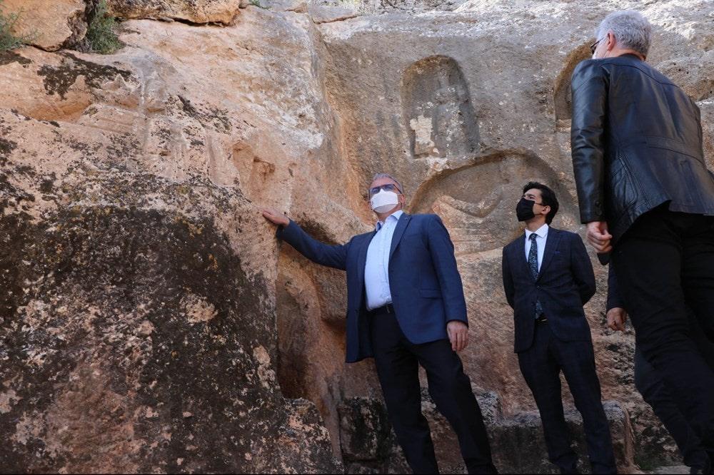 Diyarbakır Valisi Münir Karaloğlu Hilar Mağaraları kazıları başlıyor