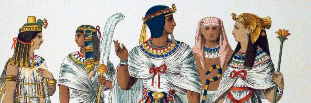 Eski Mısır giyim kuşam