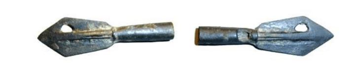 Kimmerler'in kullandığı ok uçlu para örnekleri