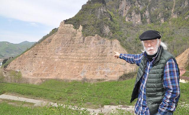 Kurul Kalesi taş ocağı yüzünden risk altında