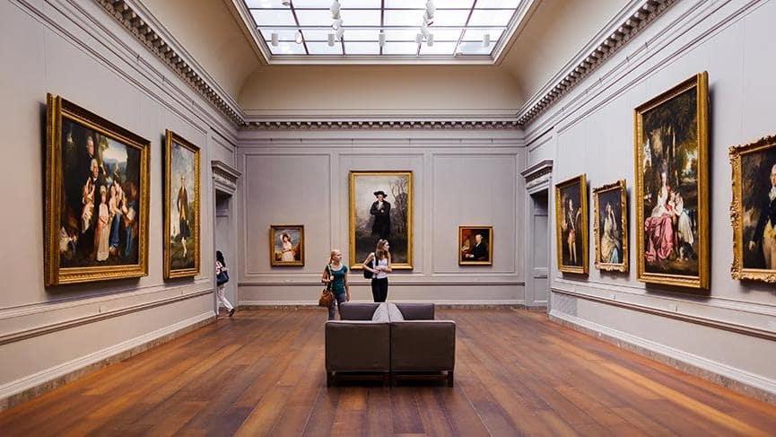 Metropolitan müzesi birbirinden değerli birçok tabloya ev sahipliği yapıyor