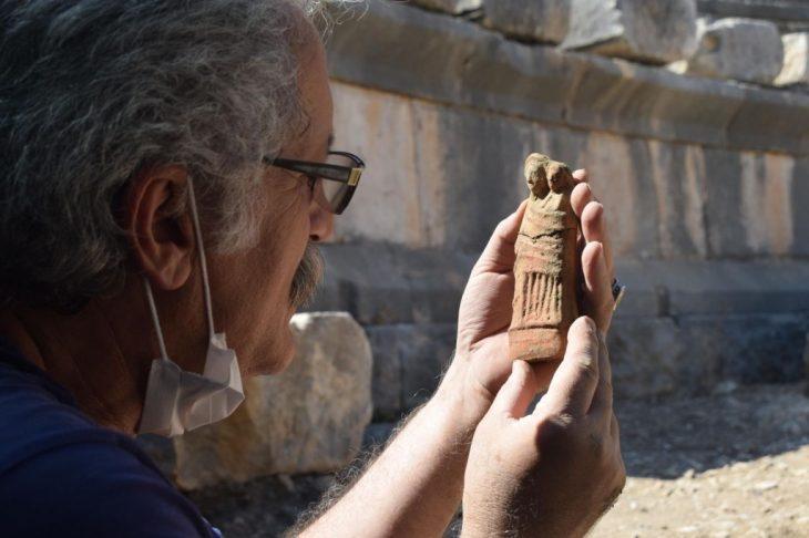 Myra Antik Kenti Koruyucu Tanrıçası Artemis'e 2000 yıl sonra ilk bakış