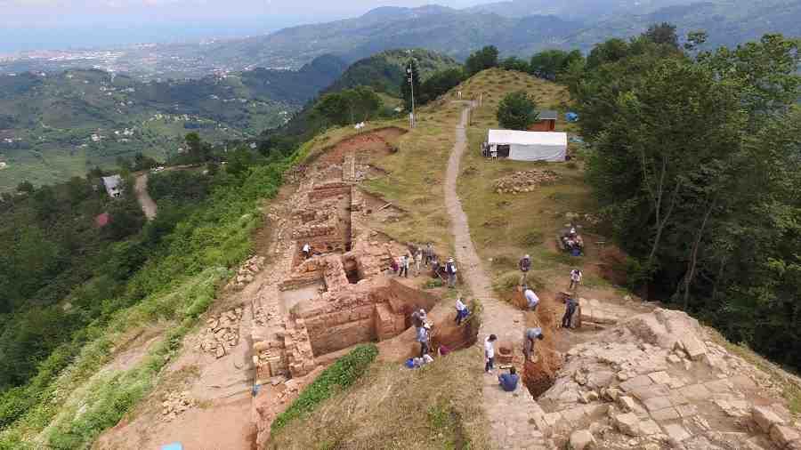 Ordu Kurul Kalesi Kazıları