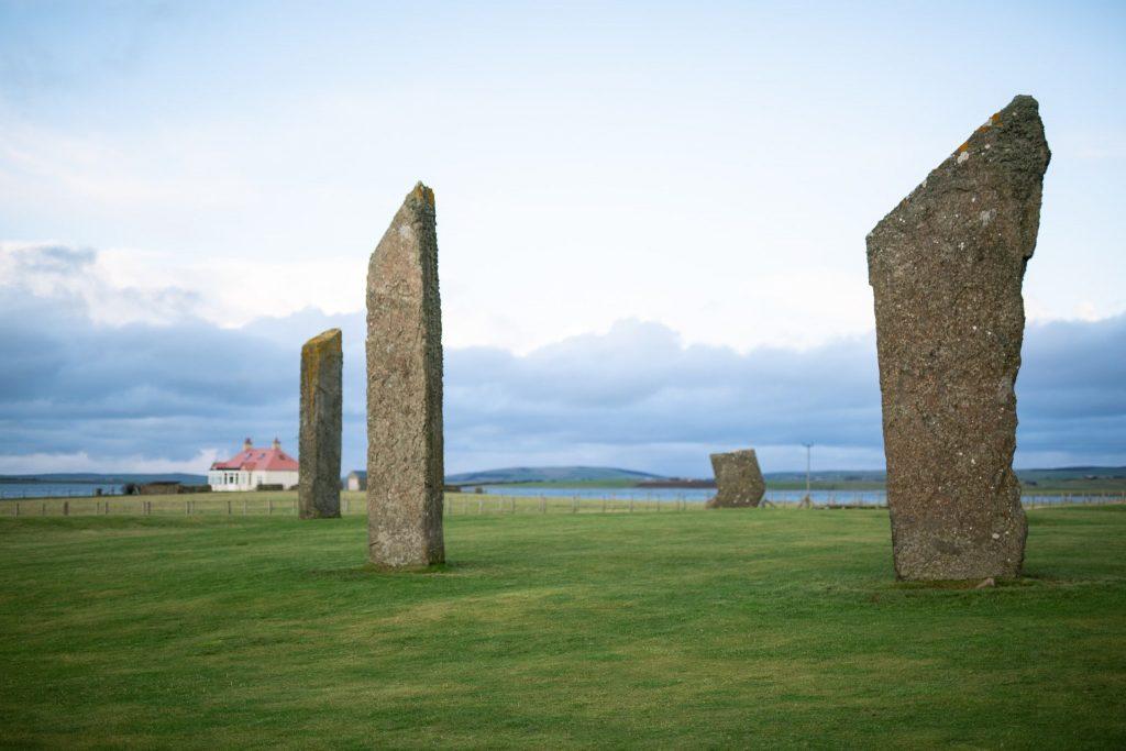Orkney'de bulunan Stenness Taşları