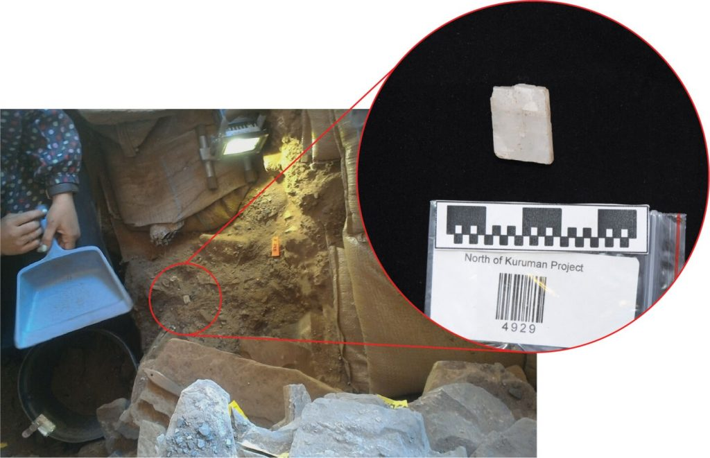 Toplanılmış saklanılmış 22 kalsit kristal