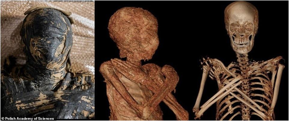 Antik Mısırlı, mumyalanmış hamile bir kadının ilk kalıntıları Thebes'te keşfedildi