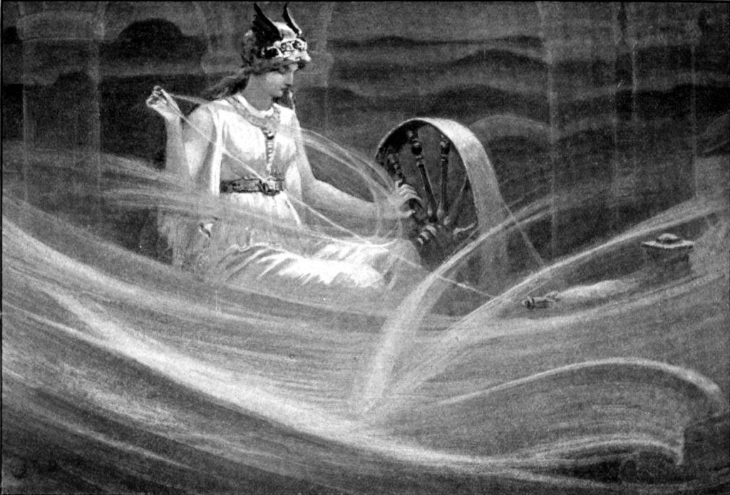 Frigg, Asgard'ın Kraliçesi ve en güçlü tanrıçadır