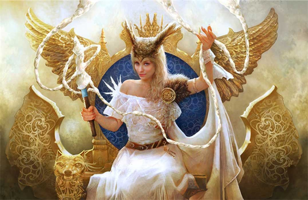 İskandinav Tanrıçası Frigg