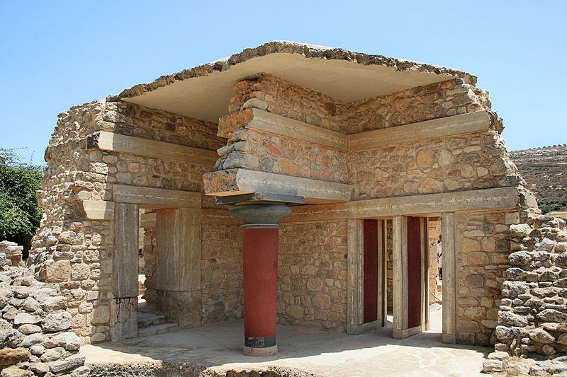 Knossos Sarayı_ Minos Uygarlığı_Girit