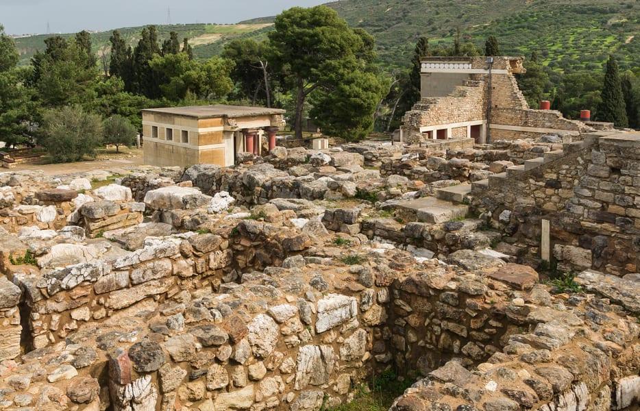 Knossos Sarayı_Girit