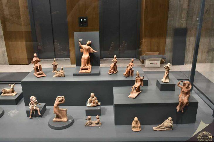 Troya Müzesi zemin Katı Assos Vitrini