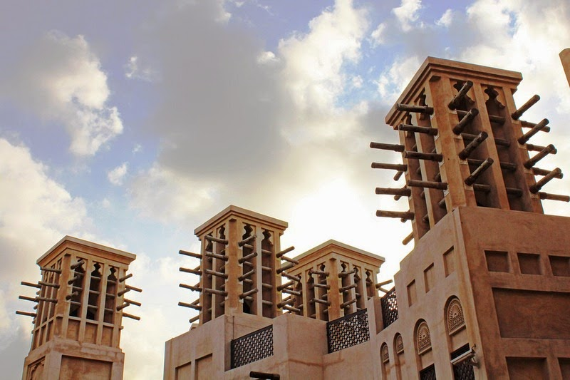 Wind-catchers-at-Madinat-Jumeirah.