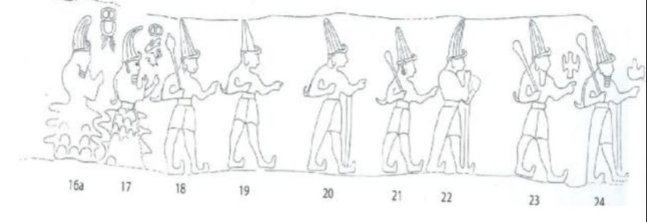 Yazılıkaya dağ tanrıları
