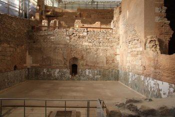 Efes antik kentindeki bir villa