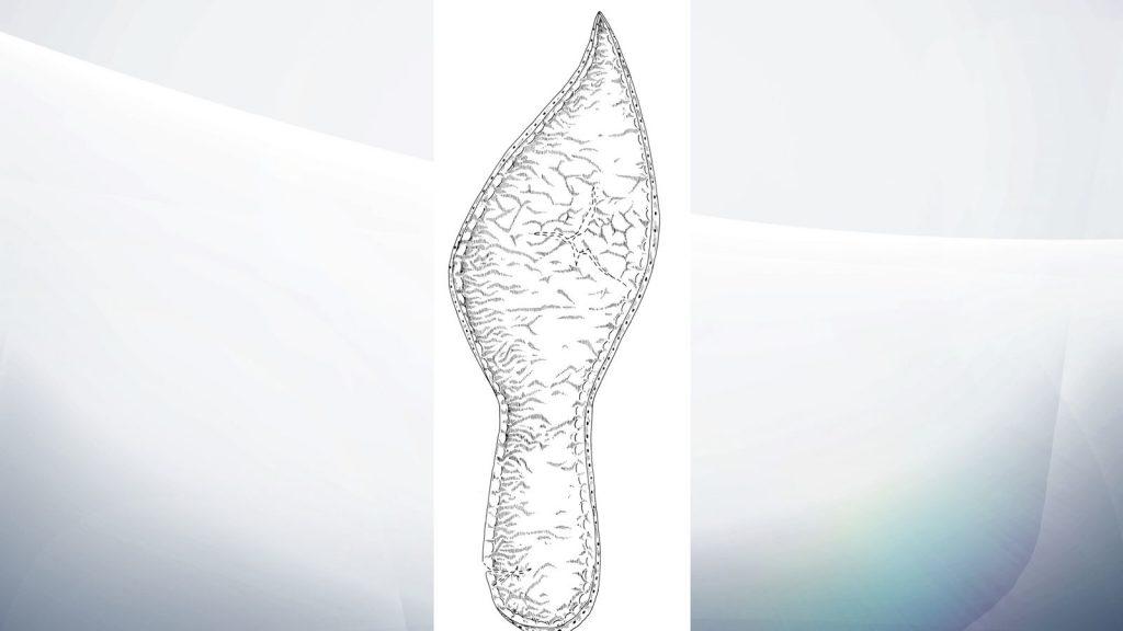14. yy. yetişkin ayakkabısının tabanı