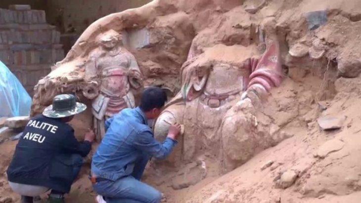 Çin'de bulunan antik kale Foto: REUTERS