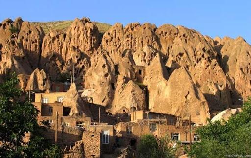 Kandovan Köyü, İran.