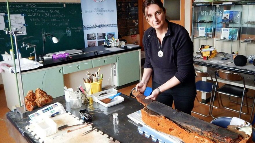 Ertuğrul Fırkateyni Kazısı Koordinatörü Arkeolog Dr. Berta Lledo Turanlı yaşamını yitirdi