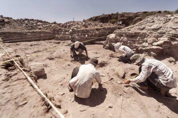 Fas'ta 1 milyon 300 bin yıl önceye dayanan balta üretim tesisi bulundu AP