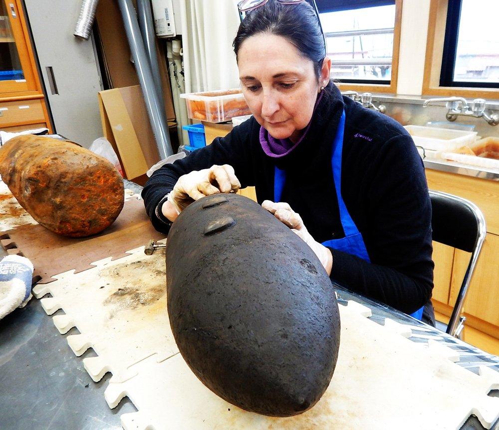 İspanyol Arkeolog Berta Lledo Turanlı Fotoğraf Sözcü