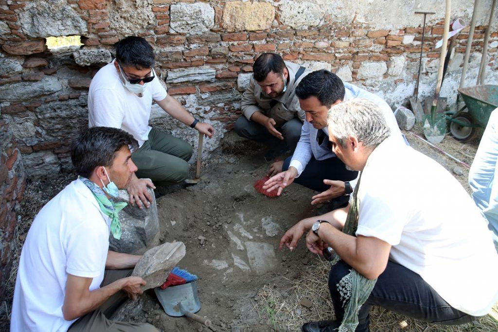 Magnesia Antik Kenti 2021 kazı çalışmaları